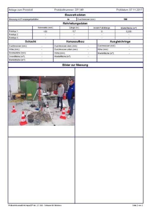 BPS03 Dichtheitsprüfung Rohrleitungsprüfung