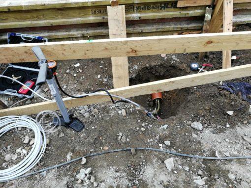 Rohrleitungsprüfung mit einem Hausanschlussprüfgerät