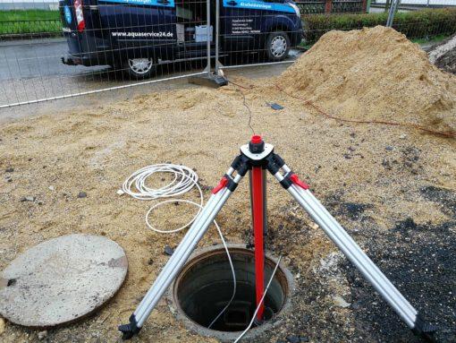Aquametrics Dichtheitsprüfgerät im Einsatz bei Aquaservice GmbH